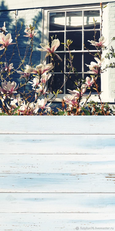 Фотофон Окно в саду (пол/стена) 50х100 см, Атрибутика, Ярославль, Фото №1