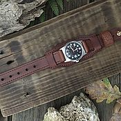 Украшения handmade. Livemaster - original item Watchband: watchband 22mm. Handmade.
