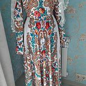 Платья ручной работы. Ярмарка Мастеров - ручная работа Платье в русском стиле. Handmade.