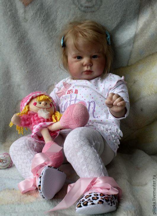 Куклы-младенцы и reborn ручной работы. Ярмарка Мастеров - ручная работа. Купить Кукла реборн Ариша.. Handmade. Розовый, винил