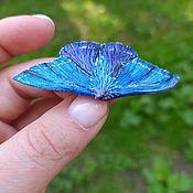 handmade. Livemaster - original item Moth brooch made of polymer clay. Handmade.