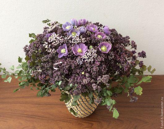 """Цветы ручной работы. Ярмарка Мастеров - ручная работа. Купить """"ДУШЕЧКА"""" Цветы из полимерной глины. Букет цветов. Handmade."""
