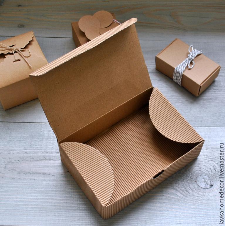 Как сделать крафт коробку 683