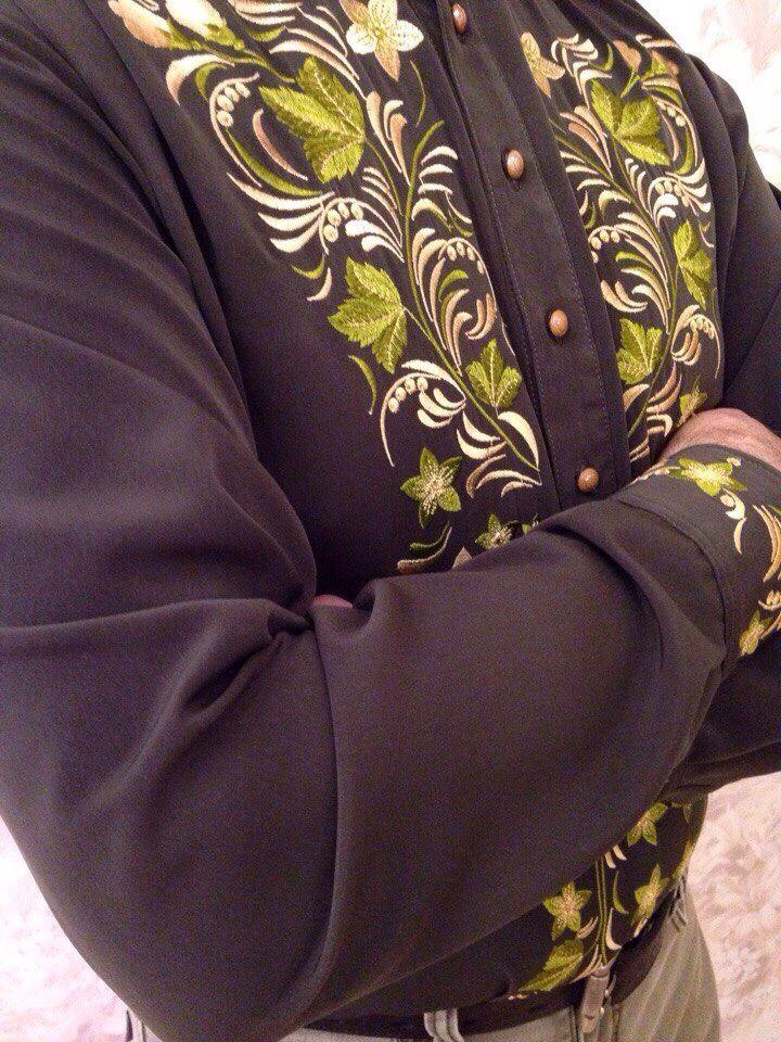 Косоворотка мужская с вышивкой купить