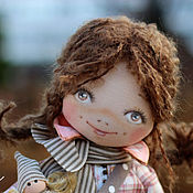 Куклы и игрушки ручной работы. Ярмарка Мастеров - ручная работа Текстильная авторская кукла Эрика. Handmade.