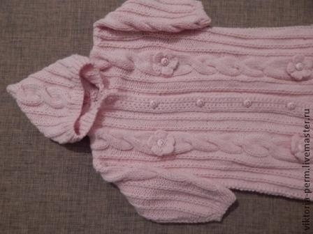 Для новорожденных, ручной работы. Ярмарка Мастеров - ручная работа. Купить Нежно розовый конверт для девочек .Авторская работа.. Handmade.