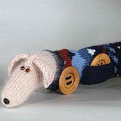 """Куклы и игрушки ручной работы. Ярмарка Мастеров - ручная работа Собачка """"длинномер"""". Handmade."""