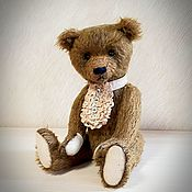 Куклы и игрушки handmade. Livemaster - original item Teddy bear from mohair - Afanasy author Teddy bear. Handmade.