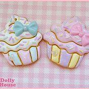 """Украшения ручной работы. Ярмарка Мастеров - ручная работа Брошка """"Sweet Cupcake Cookie"""". Handmade."""