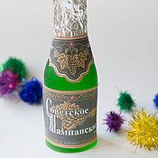 """Косметика ручной работы. Ярмарка Мастеров - ручная работа Мыло """"Бутылка шампанского"""". Handmade."""