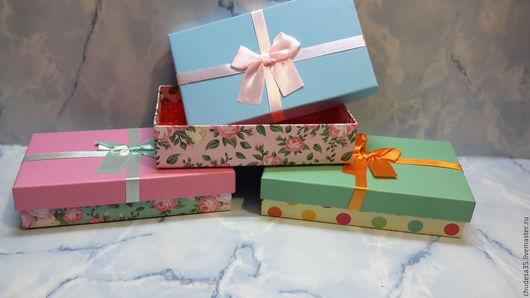 Упаковка ручной работы. Ярмарка Мастеров - ручная работа. Купить Подарочная коробка. Handmade. Комбинированный, подарочный набор, упаковка подарочная