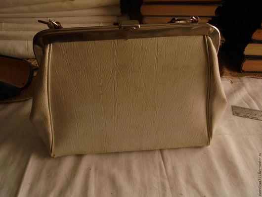 Винтажные сумки и кошельки. Ярмарка Мастеров - ручная работа. Купить Винтажная сумочка.. Handmade. Белый, кожзам