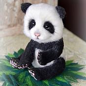 Куклы и игрушки ручной работы. Ярмарка Мастеров - ручная работа Детеныш панды Семен.. Handmade.