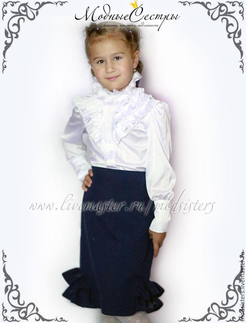 Блузка детская школьная в нижнем новгороде