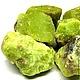 Природный опал зеленого цвета