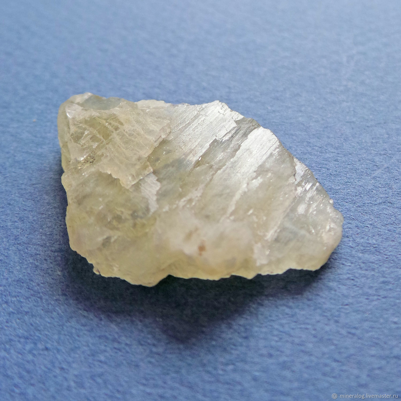 Сподумен, кристалл натуральный, гидденит N3, Минералы, Москва, Фото №1