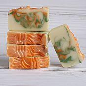 Косметика ручной работы. Ярмарка Мастеров - ручная работа Апельсиновая роща - натуральное мыло с нуля. Handmade.