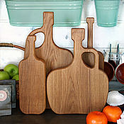 Для дома и интерьера handmade. Livemaster - original item A set of cutting boards CONNOISSEUR. Handmade.