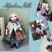 Кукла из полимерной глины Кукла Бохо Весенний Дождь