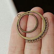 Материалы для творчества handmade. Livemaster - original item Connector for jewelry Art.KP04. Handmade.