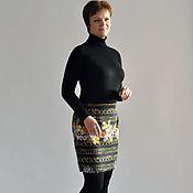 Одежда handmade. Livemaster - original item The Keys skirt knit size 48. Handmade.