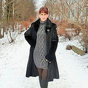 Одежда ручной работы. Ярмарка Мастеров - ручная работа Вязаное платье в стиле Рубан. Handmade.