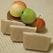 Косметика ручной работы handmade. Livemaster - original item Soap natural Apple and Cloves. Handmade.