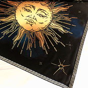 Фен-шуй и эзотерика handmade. Livemaster - original item Tablecloth for divination 51h51 cm. with the