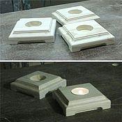 Материалы для творчества handmade. Livemaster - original item Candle holder, storage 091. Handmade.