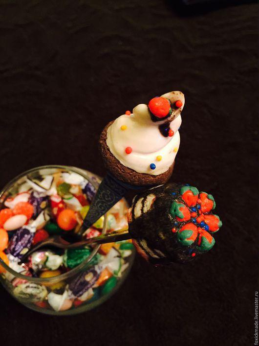 """Ложки ручной работы. Ярмарка Мастеров - ручная работа. Купить """"Вкусные ложечки"""" (в ассортименте). Handmade. Комбинированный, handmade, посуда"""