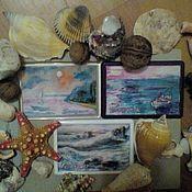 Картины и панно handmade. Livemaster - original item Paintings-magnets-miniatures.. Handmade.