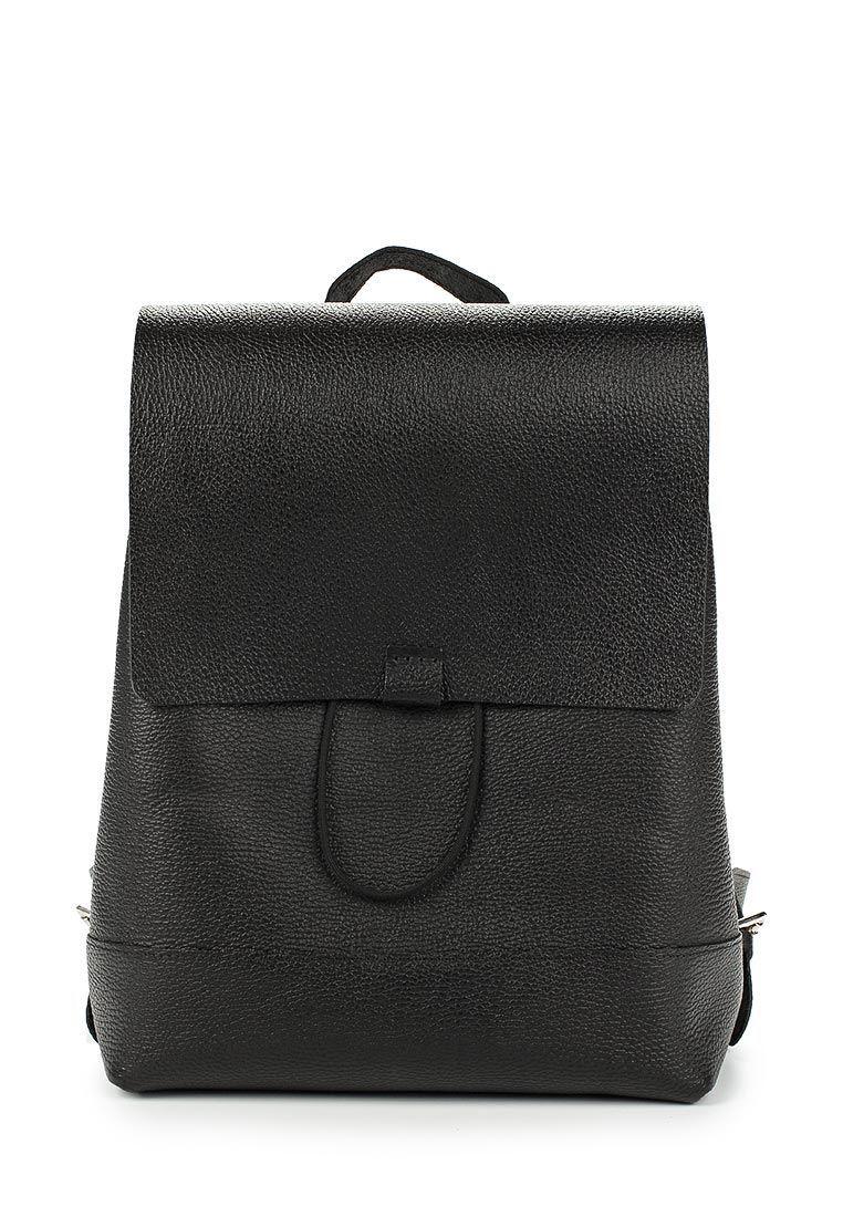 Кожаный рюкзак Divalli B002 black grain, Рюкзаки, Москва,  Фото №1