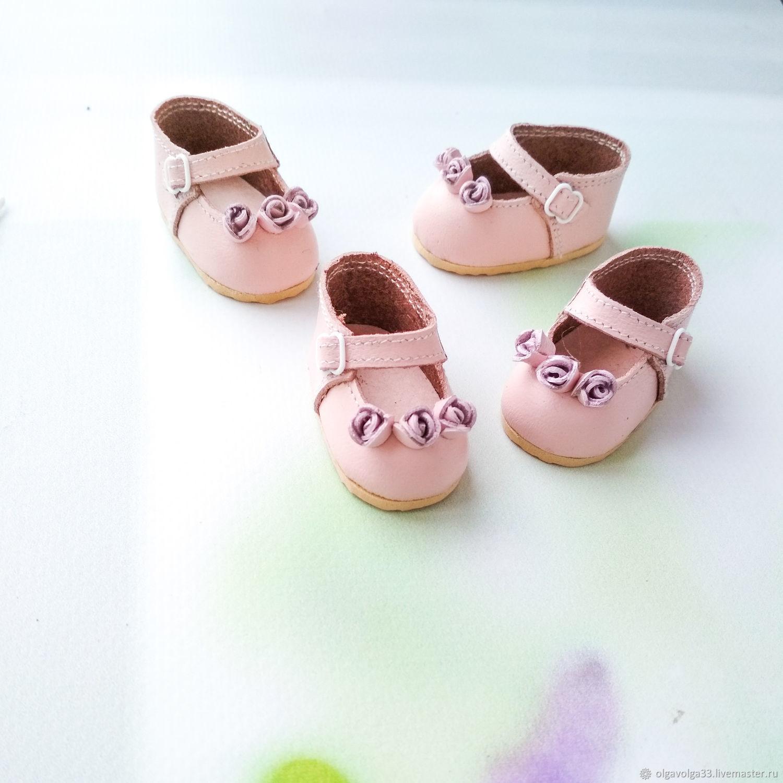 Розовые туфельки для Паола Рейна, Одежда для кукол, Липецк,  Фото №1