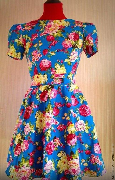 Фото летних платьев на пошив
