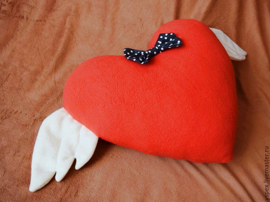 Подушка-сердечко своими руками