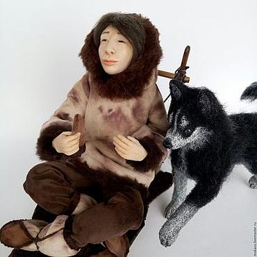 Куклы и игрушки ручной работы. Ярмарка Мастеров - ручная работа «Отдых» авторская коллекционная кукла. Handmade.