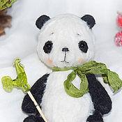 Куклы и игрушки ручной работы. Ярмарка Мастеров - ручная работа Панда Сandy (Резерв). Handmade.