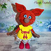 Куклы и игрушки handmade. Livemaster - original item Soft toys: Fox. Fox knitted. Handmade.