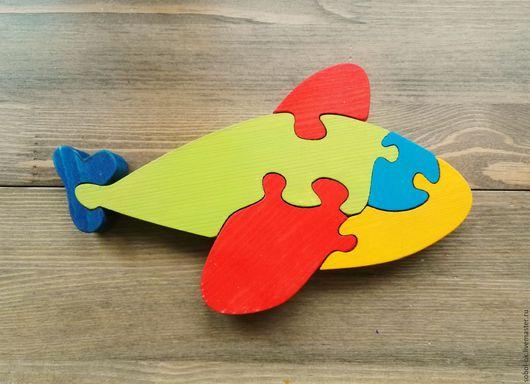 Куклы и игрушки ручной работы. Ярмарка Мастеров - ручная работа. Купить Самолетик. Handmade. Развивающие игрушки, деревянная игрушка