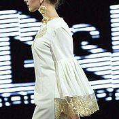Одежда ручной работы. Ярмарка Мастеров - ручная работа Платье белое2. Handmade.