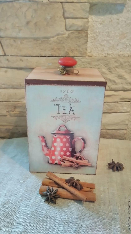 Box for tea, Jars, St. Petersburg,  Фото №1