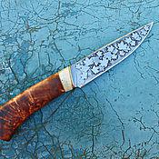"""Сувениры и подарки ручной работы. Ярмарка Мастеров - ручная работа Нож """"Листья клена"""" кованый ручной работы (подарок мужчине). Handmade."""