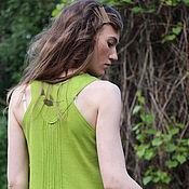 Одежда ручной работы. Ярмарка Мастеров - ручная работа Длинное трикотажное платье. Handmade.