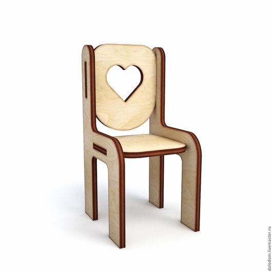 Куклы и игрушки ручной работы. Ярмарка Мастеров - ручная работа. Купить КМ-0000076 стул. Handmade. Заготовки для творчества