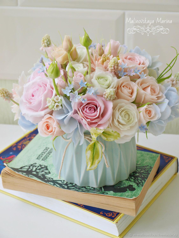 Цветы в подарок почтой