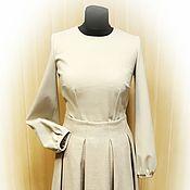 Одежда handmade. Livemaster - original item Kit - Knitted blouse and skirt. Handmade.