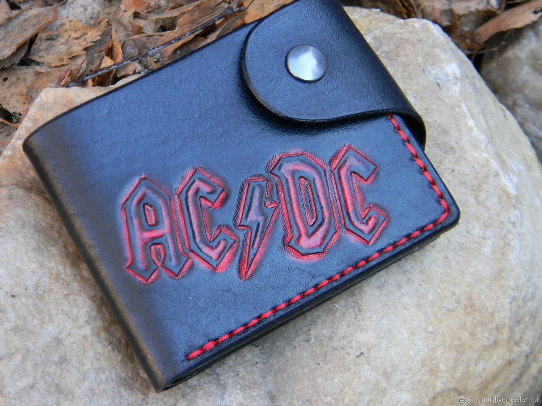 Wallet men's AC/DC, Wallets, Kineshma,  Фото №1