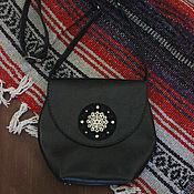 Сумки и аксессуары handmade. Livemaster - original item Leather bag in boho style. Handmade.