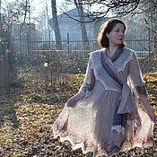 Одежда handmade. Livemaster - original item Openwork mohair dress Magic Harumi. Handmade.