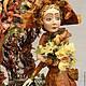 Коллекционные куклы ручной работы. Осень. Ирина Моисеева. Ярмарка Мастеров. Подарок
